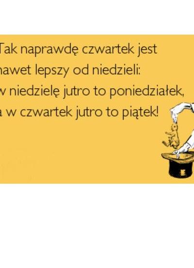 --Czwartkowe